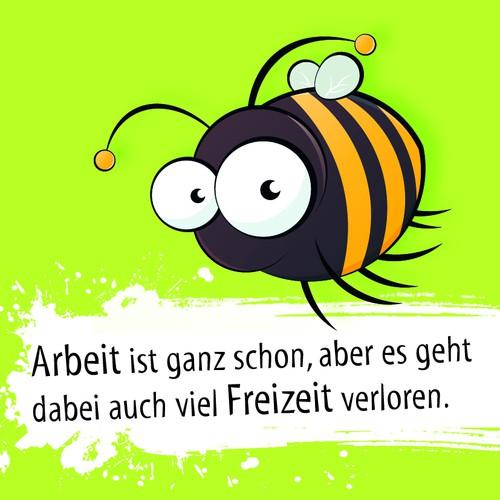 Biene (Kühlschrankmagnet)