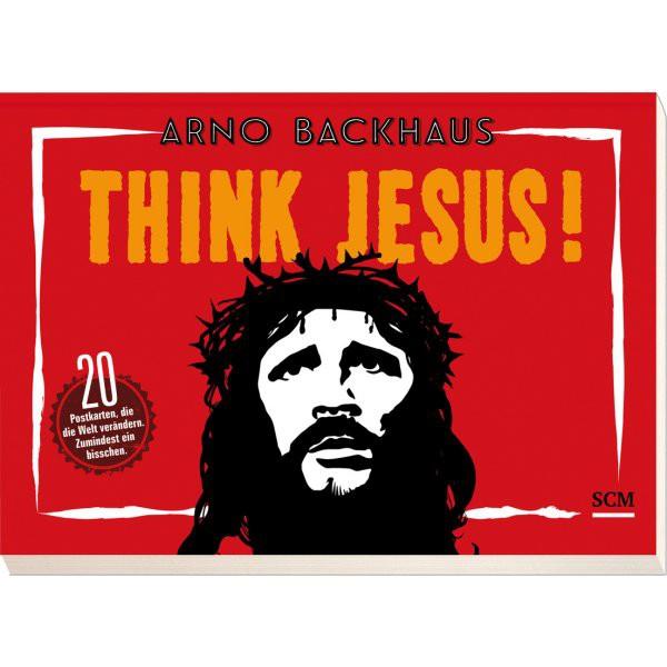 Think Jesus! (20 Postkarten)