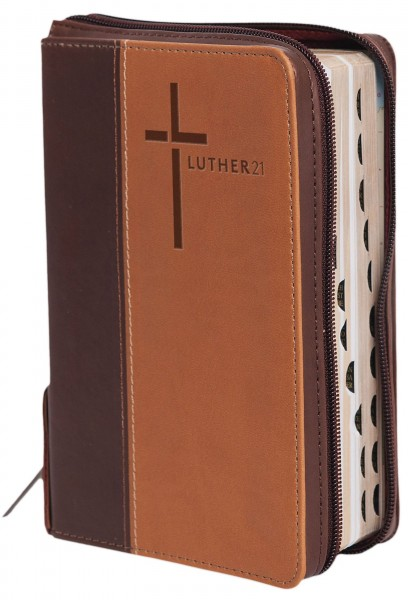Luther21 - Standardausgabe - Kunstleder Cowboy braun/beige